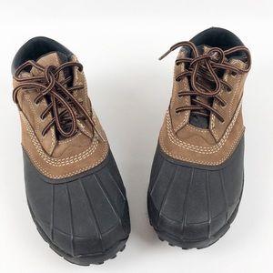 LL Bean Boots Hiking Ankle Rain Duck Sz 9.5 Medium